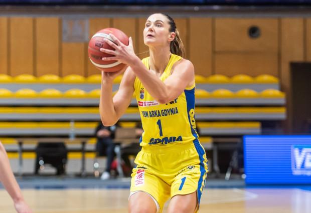 Alice Kunek zdobyła 18 punktów w meczu ze Ślęzą Wrocław. To najlepszy wynik w zespole VBW Arki Gdynia.