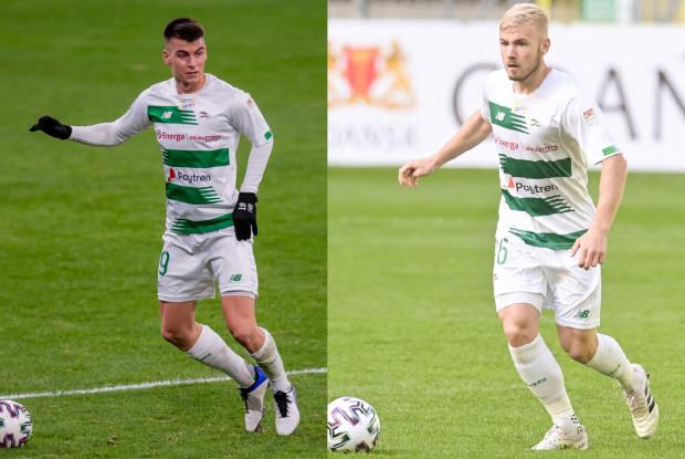 Lechia Gdańsk w najbliższym czasie największe pieniądze może zarobić na transferach: Karola Fili (z lewej) i Tomasza Makowskiego.