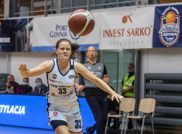 Marta Marcinowska zdobyła aż 27 punktów, ale nie wystarczyło to koszykarkom GTK Gdynia do pierwszego zwycięstwa w Energa Basket Lidze Kobiet.