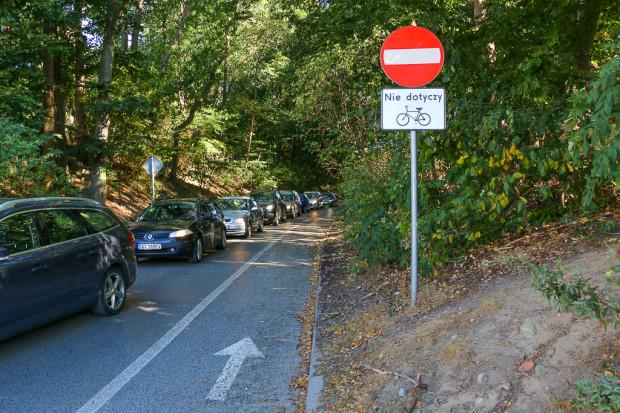 Wytyczne zawierają również zalecenia o dopuszczeniu ruchu w obu kierunkach na drogach jednokierunkowych. Wydzielony pas rowerowy jest traktowany jako rozwiązanie uzupełniające.