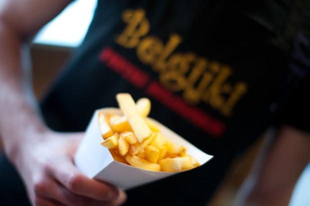 Frytki dostaniemy także w barobusach, m.in. w Belgijkach.