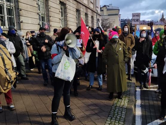 Sobotni protest w Gdańsku.