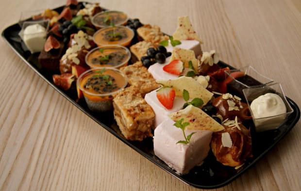 Słodki zestaw przygotowany przez Malinowy Ogród.