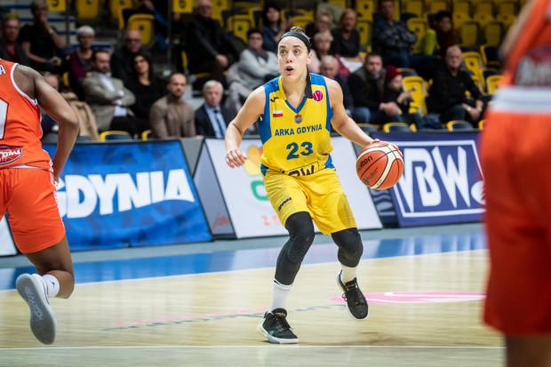 Marissa Kastanek zdobyła dla Arki najwięcej punktów na inaugurację Euroligi. Niestety, mistrzynie Polski doznały wysokiej porażki.