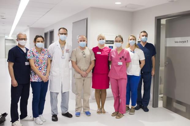 Zespół Kliniki Kardiochirurgii i Chirurgii Naczyniowej Uniwersyteckiego Centrum Klinicznego.
