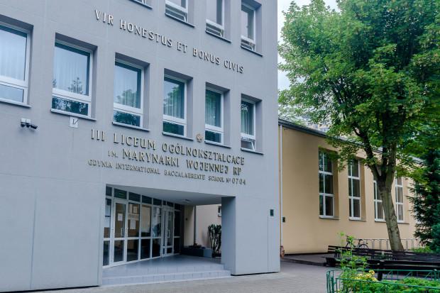 Na pierwszy miejscu znalazło się III Liceum Ogólnokształcące im. Marynarki Wojennej RP w Gdyni.