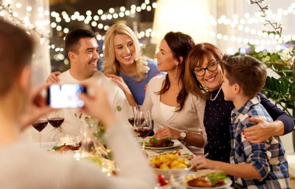 Świąteczne jedzenie jest ważne, ale i tak najcenniejsze są chwile z bliskimi.