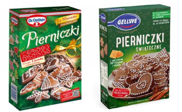 Spór toczy się o opakowanie pierniczków. Firma Dr. Oetker Polska uważa, że produkt marki Gellwe jest zbyt podobny. Gdańska firma od lat sprzedaje pierniczki w tym opakowaniu z foremką w środku.