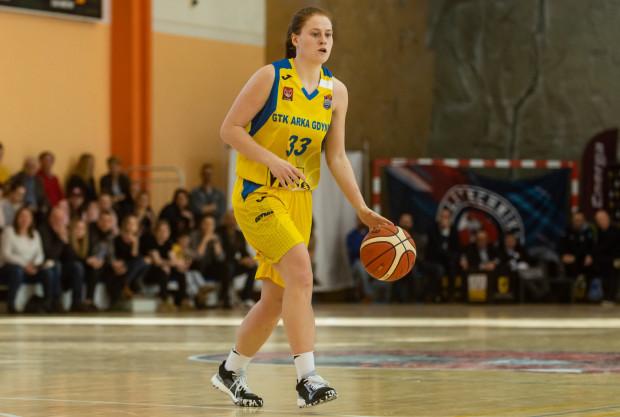 Marta Marcinkowska zdobyła w Sosnowcu 17 pkt, ale nie mogła być zadowolona z sobotniego meczu przeciwko Zagłębiu. Trafiła 6 na 15 rzutów z gry.
