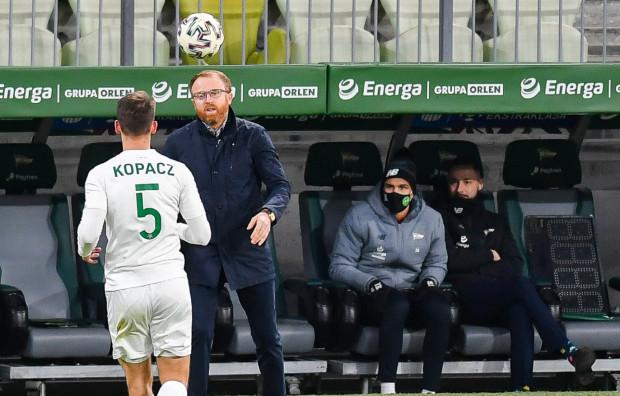Piotr Stokowiec po przegranej z Legią Warszawa: Myślę, że nikt nie powie o Lechii, że modowała futbol, czy zamordowała.