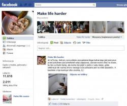 """Blog Kasi Tusk """"Make life easier"""" doczekał się swojej parodii. Dwaj (prawdopodobnie) studenci stworzyli stronę """"Make life harder"""", na której prezentują trudniejszą stronę życia młodego człowieka z Trójmiasta."""