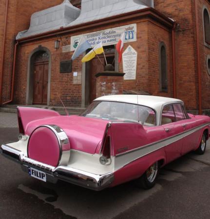 ... nawet limuzynę, jak to miało miejsce np. w Kościerzynie.