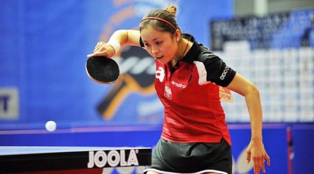 Li Qian godnie reprezentuje Polskę.