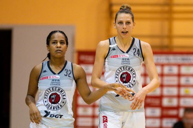 Jazmine Davis i Martyna Koc zdobyły najwięcej punktów dla DGT AZS Politechniki Gdańskiej w meczu z Eneą AZS Poznań.
