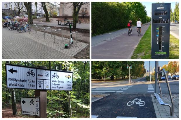 W ramach inwestycji powstaną stojaki, podpórki, drogowskazy oraz licznik rowerowy.