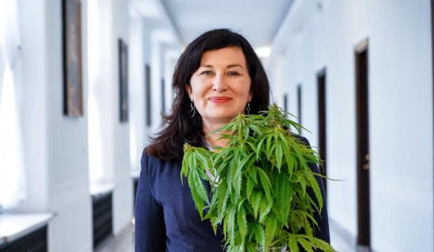 Gdańska posłanka Lewicy Beata Maciejewska to szefowa Parlamentarnego Zespołu ds. Legalizacji Marihuany.