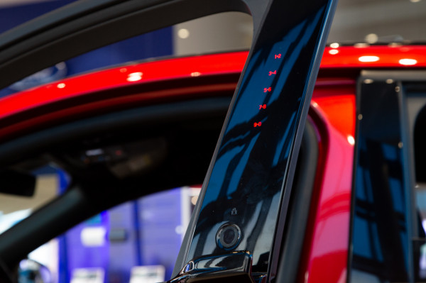 Elektryczny Ford Mustang Mach-E zaprezentowany w trójmiejskich salonach.