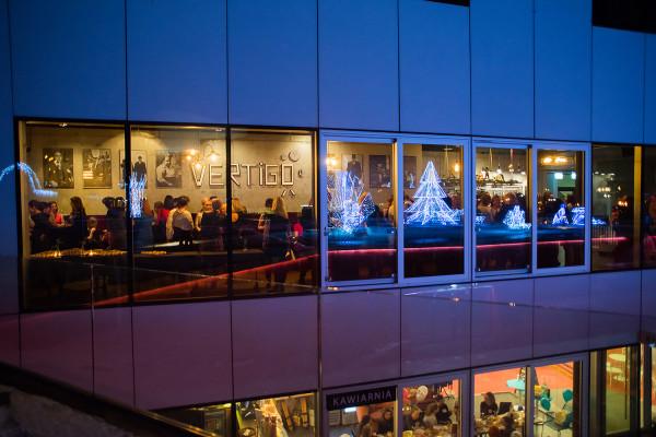 Restauracja Vertigo mieściła się w Gdyńskim Centrum Filmowym. Wkrótce zastąpią ją Niewinni Czarodzieje 3.0.