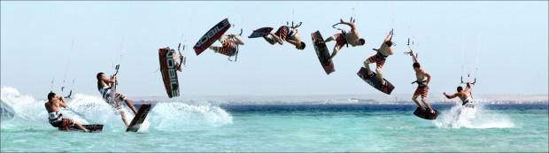 DJ NoZ stawia na sporty wodne, które pozwalają wykonywać przeróżne ewolucje i triki.
