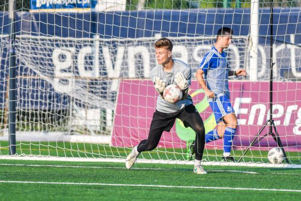 Tycjan Smolak ponownie bronił dostępu do bramki Bałtyku Gdynia. 19-latek minioną jesień spędził na wypożyczeniu w IV-ligowym GKS Luzino.