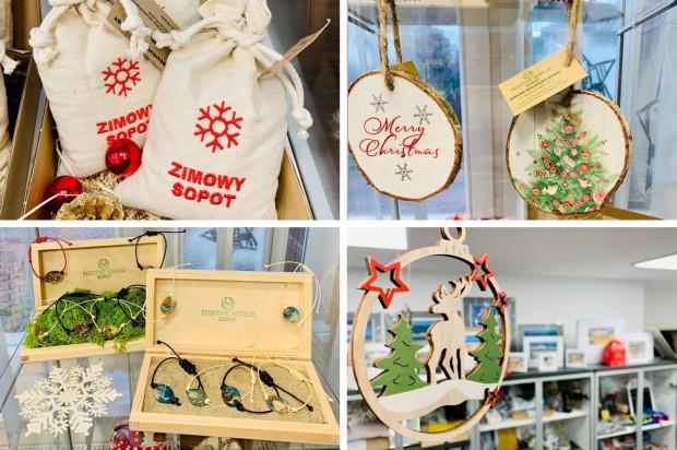 Punkt Informacji Turystycznej w Sopocie oferuje sopockie pamiątki, które idealnie sprawdzą się na świąteczny prezent.