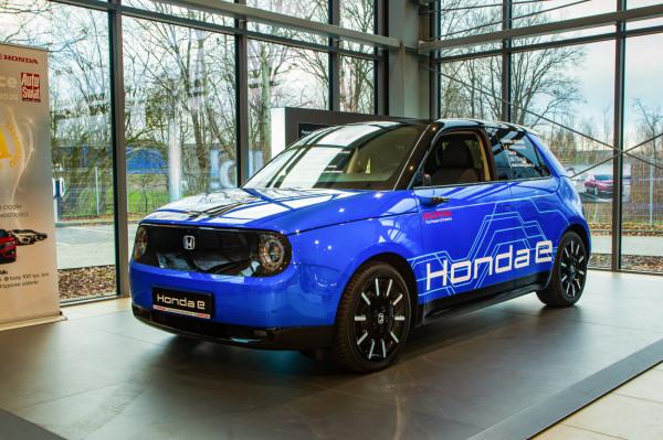 Elektryczna Honda e zadebiutowała w Trójmieście pod koniec roku.