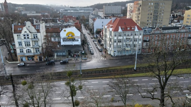 Tramwaj w ramach Nowej Politechnicznej ma się włączyć w al. Grunwaldzką przez ul. Bohaterów Getta Warszawskiego.
