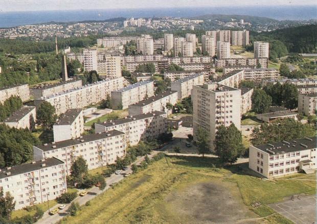 Panorama Witomina od strony ul. Nauczycielskiej.