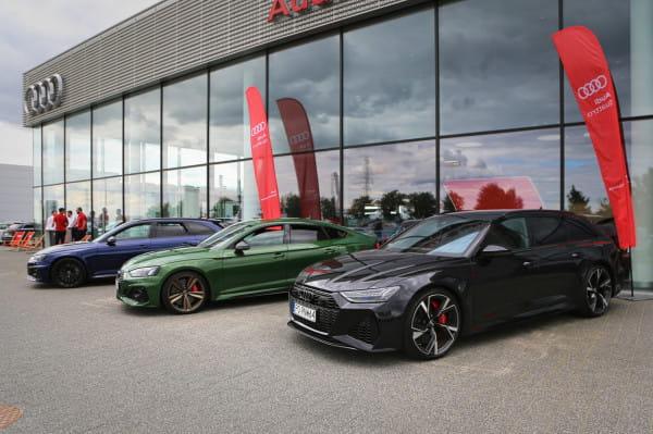 Audi Centrum Gdańsk zaprosiło swoich klientów na pełne emocji przejażdżki topowymi modelami RS.