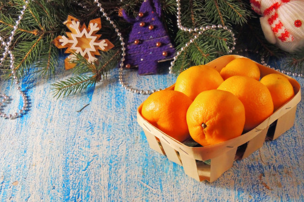Zapach mandarynek kojarzy się ze świętami.