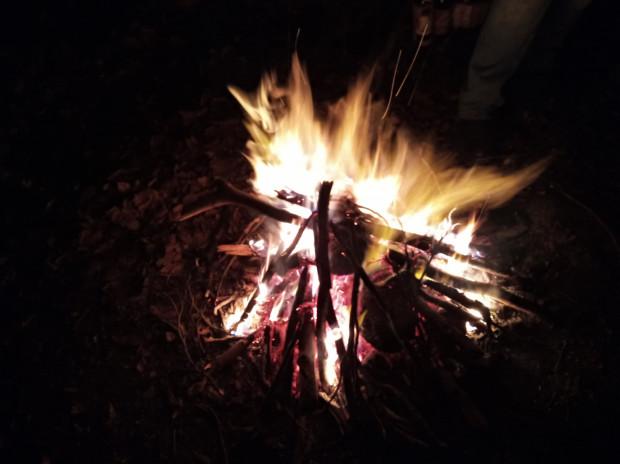 - Podczas obrzędu w gromadzie, żerca (w religii słowiańskiej kapłan - red.) nad ogniem rytualnym błogosławi tegoroczną podłaźniczkę, a ta z zeszłego roku jest spalana - opowiada Judyta Król, rodzimowierczyni od 10 lat.