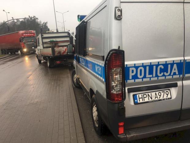 Skradziony samochód zatrzymano na ul. Słowackiego.