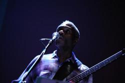 Jerome Harris w latach 80. występował w Polsce jako basista Sonny Rollinsa. Na zdjęciu podczas jednej ze swych wokaliz.