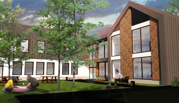 Dom sąsiedzki, miejsce spotkań mieszkańców Oruni, ma powstać przy ul. Dworcowej do połowy 2022 r.