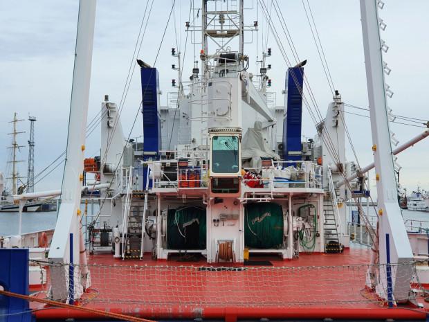 Na początku grudnia jednostka badawcza UG powróciła z rejonu północnej Ławicy Słupskiej, gdzie specjaliści prowadzili badania ichtioplanktonu oraz ichtiofauny.