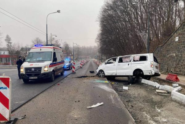 Wypadek 1.01 w Sopocie. Kierowca busa był pijany.