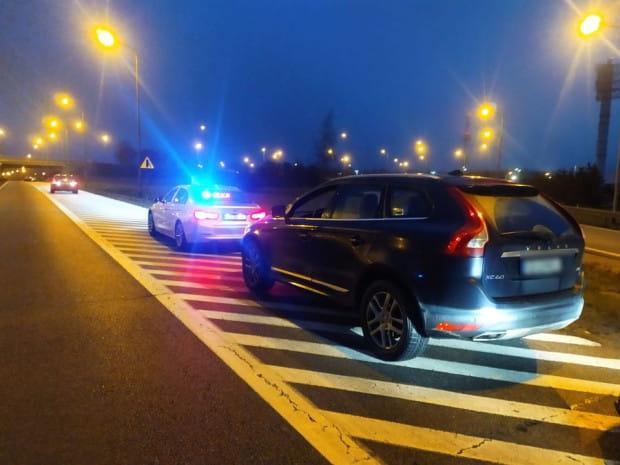 Obywatel Holandii został zatrzymany do kontroli drogowej na obwodnicy na węźle Matarnia.