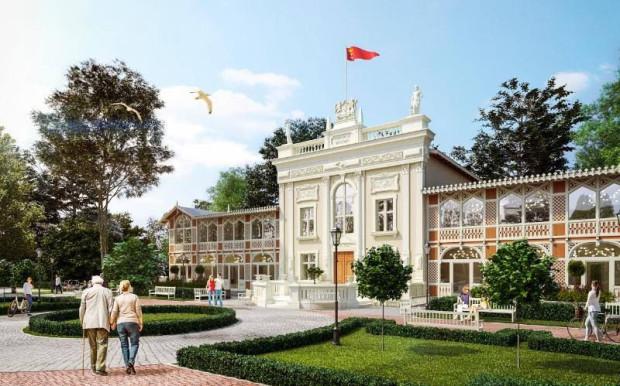 Tak będzie prezentować się Dom Zdrojowy w Brzeźnie po zakończeniu remontu.
