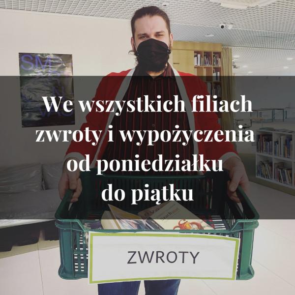Filie Biblioteki Sopockiej czynne są od 1 grudnia na nowych zasadach.