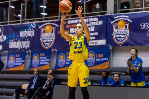 Marissa Kastanek oddała w meczu z CCC 6 celnych rzutów za 3 pkt. VBW Arka Gdynia zza łuku trafiła 19 razy ocierając się o rekord sezonu.
