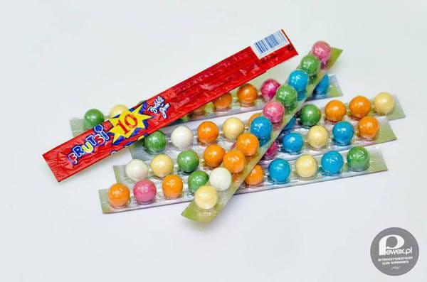 Gumy kulki miały niezapomniany smak - jeszcze dziś można znaleźć je w osiedlowych sklepikach.