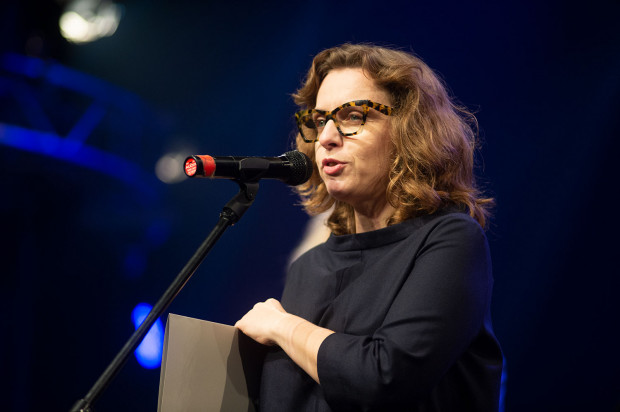 "Magdalena Grzebałkowska Gala Pomorskiej Nagrody Literackiej ""Wiatr od Morza"" za rok 2018"