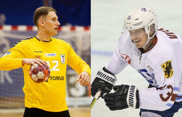 Kolejni kandydaci do tytułu Najlepszego Ligowca Roku 2020 (od prawej): Josef Vitek i Artur Chmieliński.