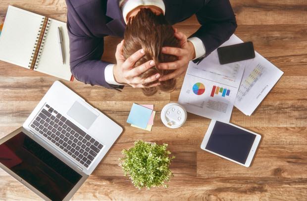 Bankructwa w 2021 r. obawia się co trzecia firma, najczęściej w usługach i produkcji.