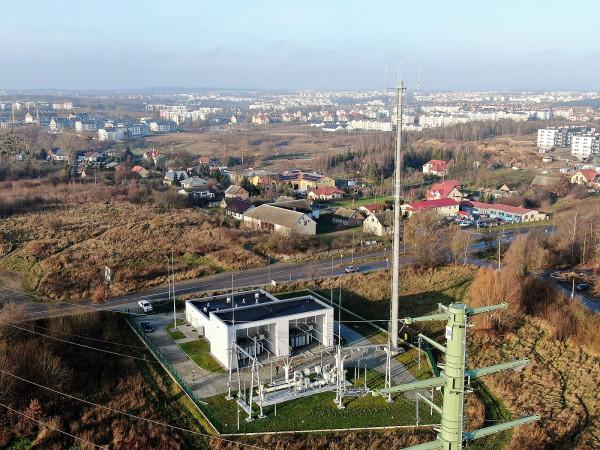 Na południu Gdańska działa już Główny Punkt Zasilania Maćkowy.