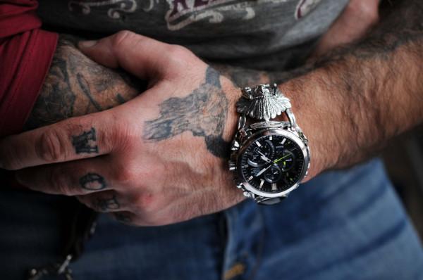 Każdy zegarek przerobiony przez pana Radosława ma swój niepowtarzalny styl.
