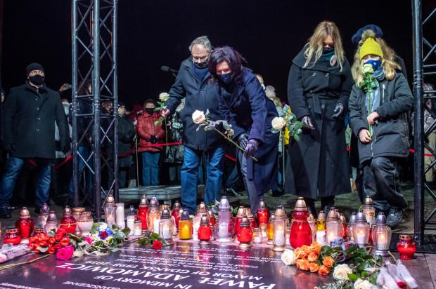 Obchody drugiej rocznicy śmierci Pawła Adamowicza.