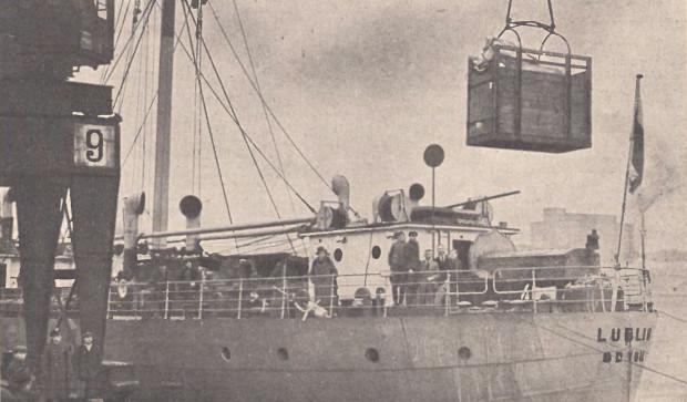 W połowie lat 30. XX wieku polskie konie eksportowaliśmy do Anglii na pokładzie statku m/s Lublin.