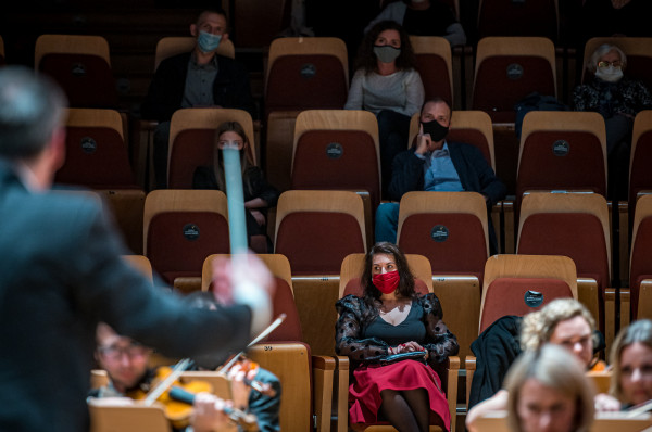 Filharmonia Bałtycka nie może doczekać się powrotu słuchaczy na widownię. Ostatni koncert z udziałem publiczności odbył się tam 6 listopada 2020 r.