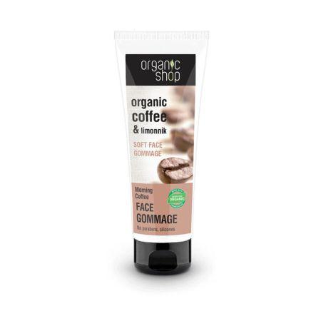 Peeling do twarzy z organiczną kawą, Organic Shop 10,90 zł